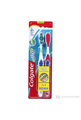 Colgate Diş Fırçası 360° 1+1 Yumuşak