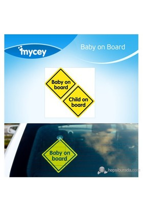MYCey Baby on Board Klasik (İngilizce)