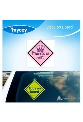 MYCey Baby on Board Princess (İngilizce)