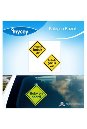 MYCey Baby on Board Klasik (Türkçe)