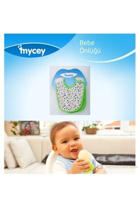 MYCey Bebe Önlüğü - 2 Parça Set - Yeşil (700001)