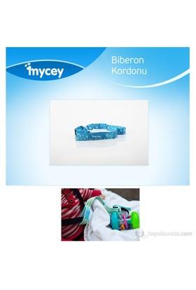 MYCey Biberon Kordonu / Mavi Yıldızlı