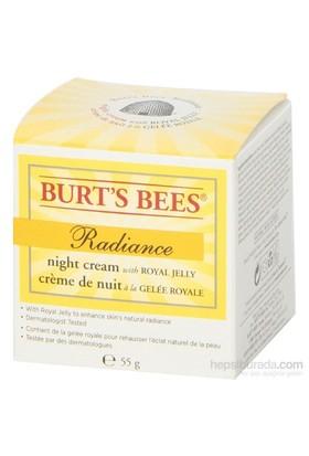 Burt's Bees Arı Sütü İçeren ve Cilde Aydınlık Veren Gece Kremi