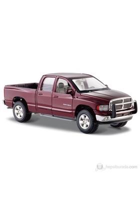 Maisto 2002 Dodge Ram Quad Cab 1:24 Special Edition Bordo