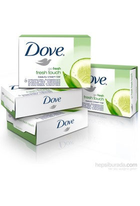 Dove Cream Bar Fresh Touch 4'lü Paket 4x100Gr