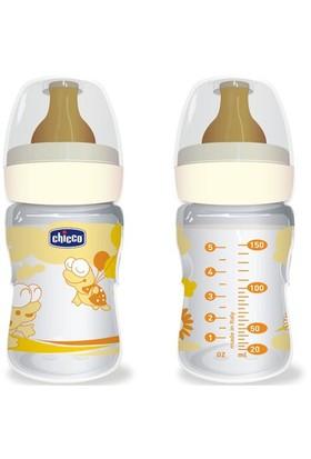 Chicco Sağlıklı Beslenme PP. 150ML Kauçuk Biberon 0 m+ %0 BPA (Turuncu)