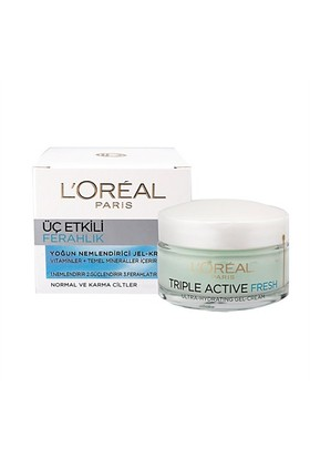 Loreal Paris 3 Etkili Ferahlık Krem Normal/K 50Ml