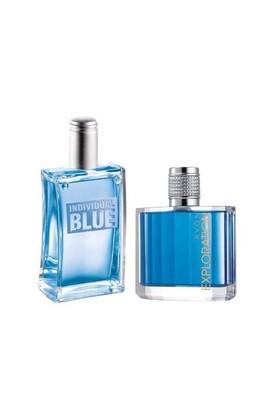 Avon Individual Blue Edt 100 Ml Exploration Edt 75 Ml Erkek Parfüm