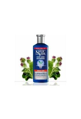 Natur Vital Hair Loss Saç Dökülmesine Karşı Şampuan Yağlı Saçlar İçin 300 ML