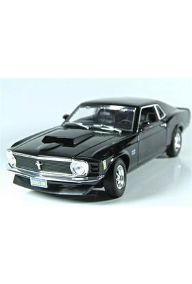 Motormax 1:18 1970 Ford Mustang Boss 429 -Siyah