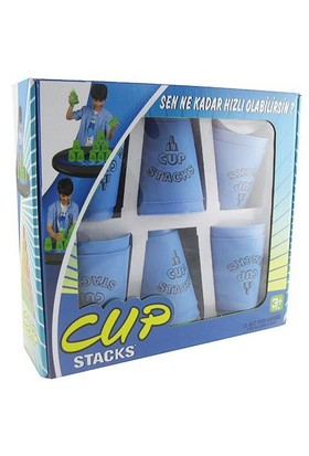 Cup Stags 12 Li Dizilim Sporu Bardak Seti Mavi