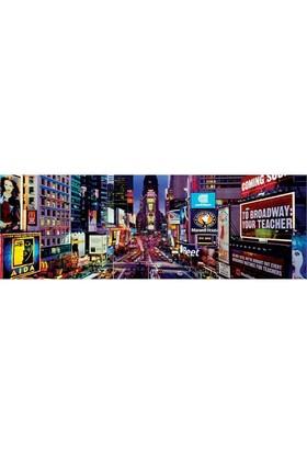 Masterpieces 1000 Parça Panoramik Puzzle Times Square