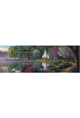 Masterpieces 1000 Parça Panoramik Puzzle Salvation Poem
