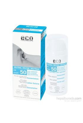 Eco Cosmetics Organik Sertifikalı Güneş Koruyucu Losyon - Kokusuz Spf 50