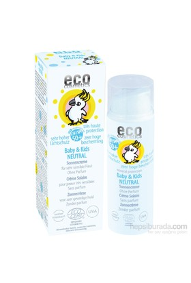 Eco Cosmetics Organik Sertifikalı Bebek Ve Çocuklara Özel Güneş Koruyucu Losyon - Kokusuz Spf 50