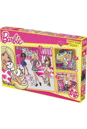 Kırkpabuc Barbie Sweet Glam Puzzle