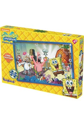 Kırkpabuc Sünger Bob Come Together Puzzle