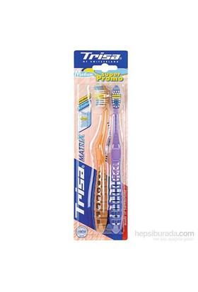 Trisa Matrix Protect Medium Diş Fırçası (2'li paket)