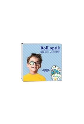 Roll Optik Kapatıcı Desenli Çoçuk Göz Bandı 50 Li