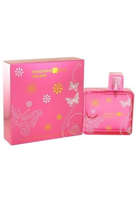 Mandarina Duck Cute Pink Edt 100 Ml