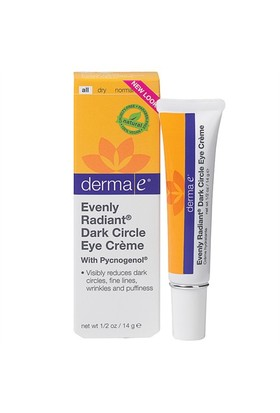 Derma E Evenly Radiant Dark Circle Eye Creme 14Gr