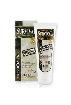 Cosmozone Survival El Ve Yüz Bakım Kremi Spf 15
