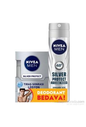 Nivea Silver Losyon Protect 100 ml. (Silver Sprey Protect Hediyeli)