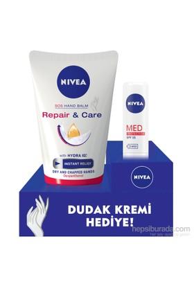 Nivea Hand Repair&Care Yoğun Bakım El Kremi 100 Ml + Lip Med Protection Hediyeli