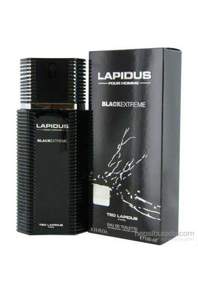 Ted Lapidus Black Extreme EDT Vapo Natural Sprey 100ml Erkek Parfümü