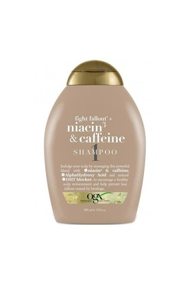 Organix Niacin 3 and Caffeine Shampoo 385ml - Dökülmelere Karşı Uyandırıcı Şampuan