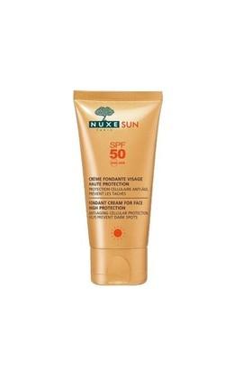 Nuxe Sun - Creme Fondante Visage Haute Protection Spf50 50Ml - Güneş Koruyucu Yüz Kremi