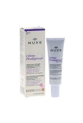 NUXE Prodigieuse Crème Daily Defense SPF 30 - Medium 30 ml