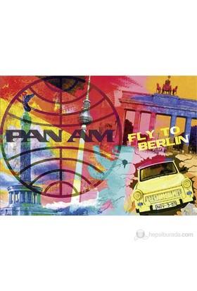 Schmidt 1000 Parçalık Puzzle Fly to Berlin Pan Am