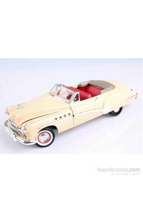 Motomax 1949 Buick Roadmaster 1/18 Die Cast Model Araç