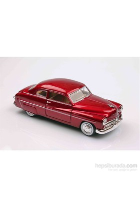 Motomax Kırmızı 1949 Mercury Coupe 1/24 Die Cast Model Araç