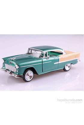 Motomax 1955 Chevy Bel Air 1/24 Die Cast Model Araç
