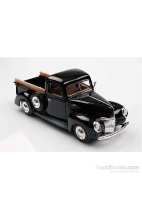 Motomax Siyah 1940 Ford Pickup 1/24 Die Cast Model Araç