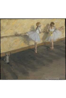 Danseuses A La Barre,Degas(1000Parça)