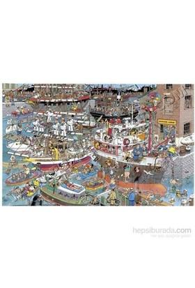 Crazy Harbour, Jan Van Haasteren (1500 Parça, Özel