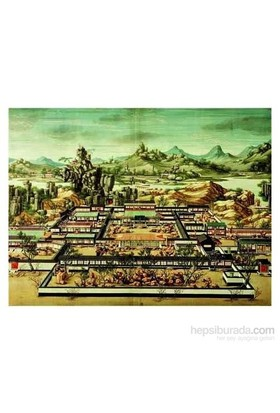 Imperial Palace Of Yuanming-Yun, Chinese Art (1500 Parça Puzzle)