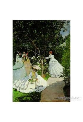 Femmes Au Jardin, Monet (2000 Parça Puzzle)