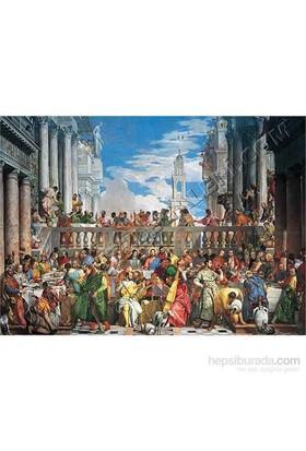 Cana'da Düğün, Veronese (2000 Parça Puzzle)