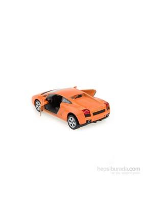 Lamborghini Gallardo Çek Bırak 1/32 Die Cast Model Araç