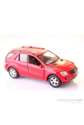 Kırmızı Mercedes-Benz Ml-Class 1/36 Çek Bırak Die-Cast Model Araç