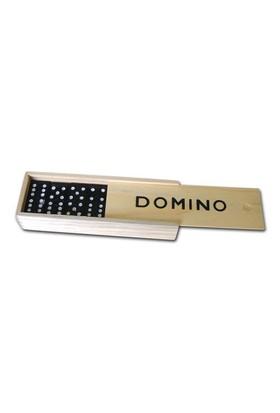 Domino Oyunu - Ahşap Saklama Kaplı