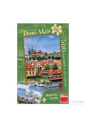 Prague Castle (500 Parça, Xxl Puzzle)