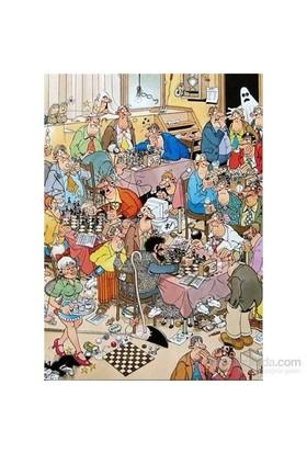 The Chess Club, Jan Van Haasteren (500 Parça)