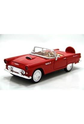 Motormax 1:24 1956 Faord Thunderbird -Kırmızı Model Araba