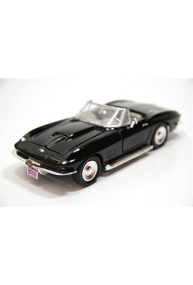 Motormax 1:24 1979 Corvette -Siyah Model Araba
