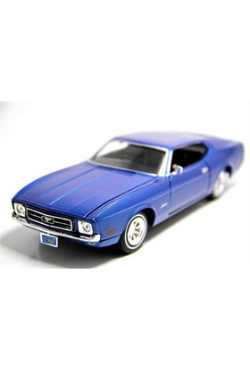 Motormax 1:24 1971 Ford Mustang Sportsroof -Lacivert Model Araba